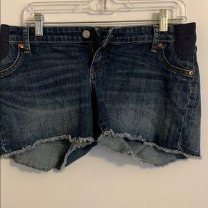 Barely Worn Gap Maternity Shorts